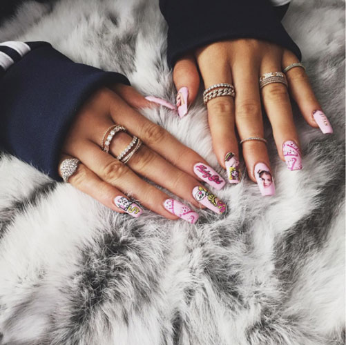 Ongles Kylie-Jenner