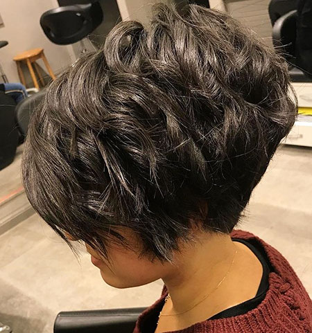 Short Pixie Shag Layered