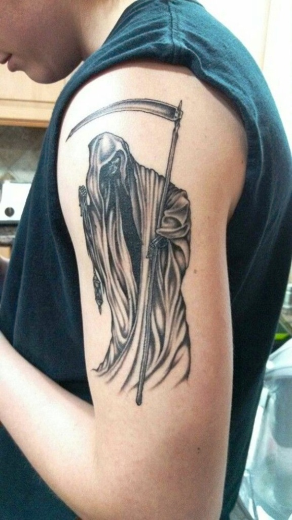 18. Dessins de tatouage de Grim Reaper