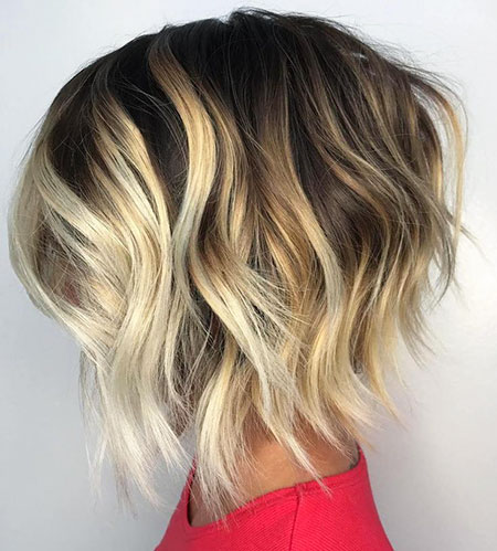 Highlights Balayage Blonde Ondée
