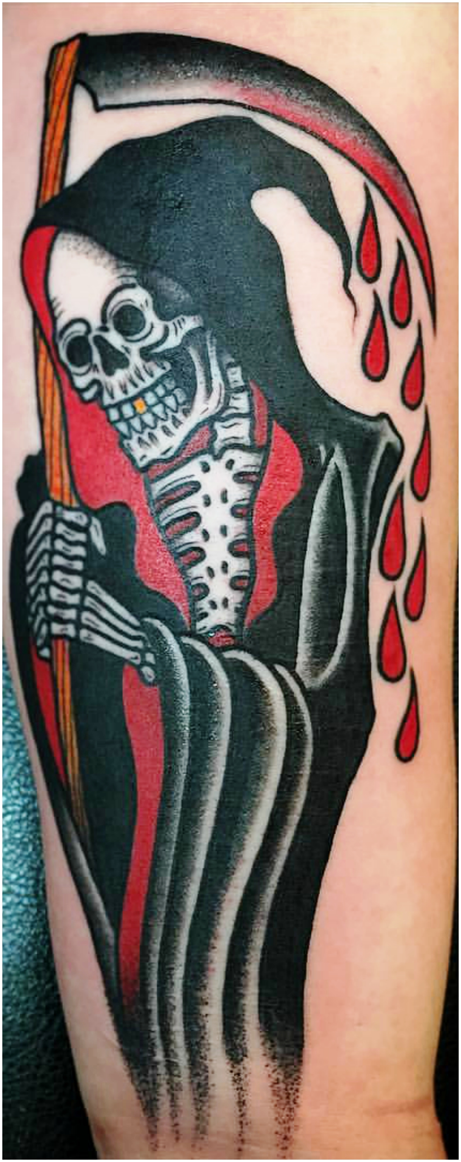 11. Dessins de tatouage de Grim Reaper