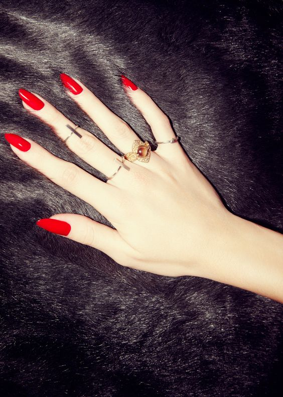 Ongles Rouges 2018 [19659029] Ongles rouges 2018