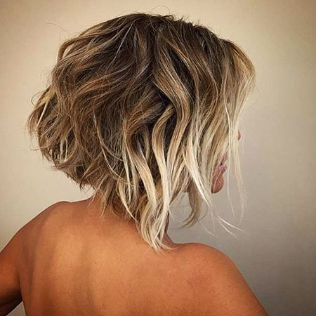 Cheveux courts Ombre