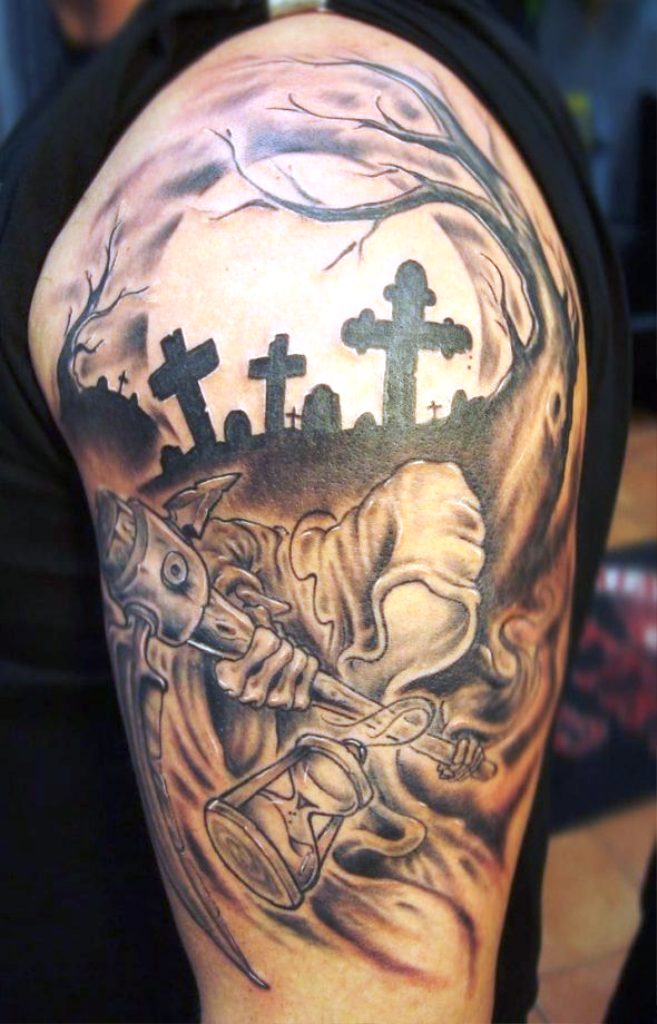14. Dessins de tatouage de Grim Reaper
