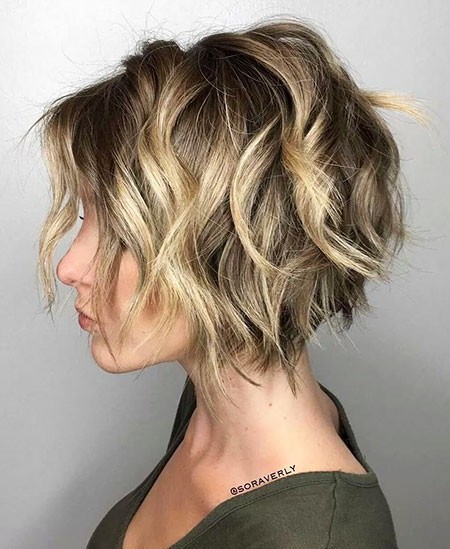 Bob Balayage superposés en couches