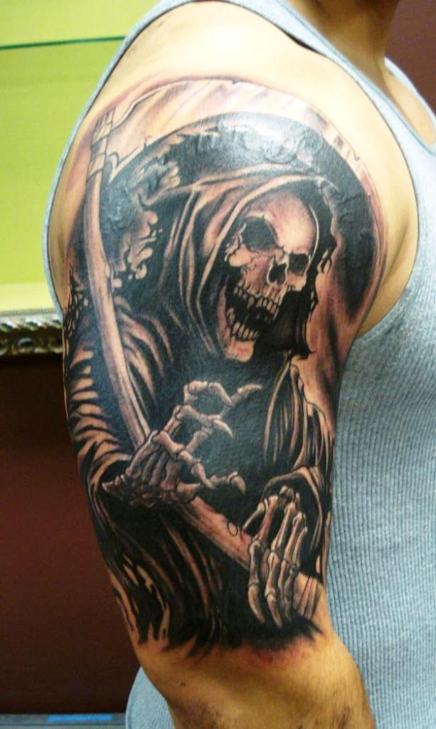15. Dessins de tatouage de Grim Reaper